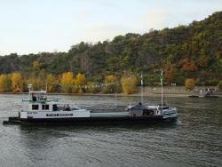 Fähre Boppard auf dem Rhein